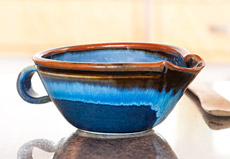 Handmade Pottery Batter Bowl