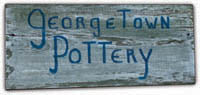 georgetown pottery original sign