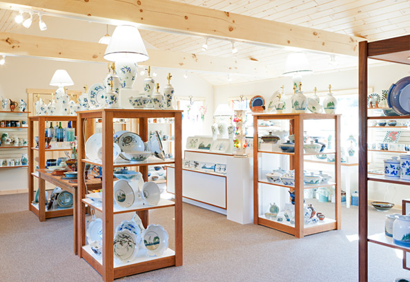 Inside of Georgetown Pottery Woolwich