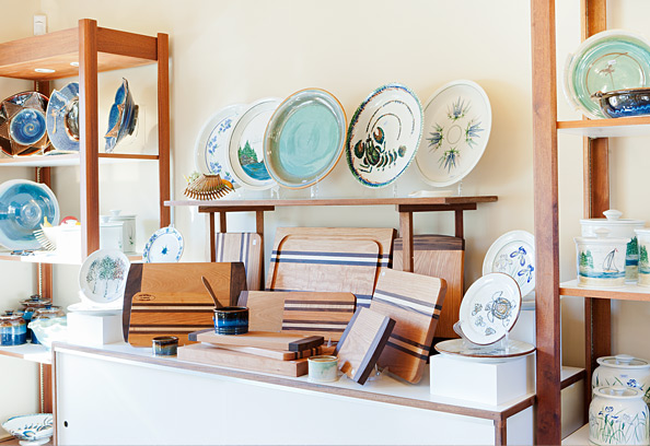 Maine Pottery and Handmade Gifts at Georgetown Pottery