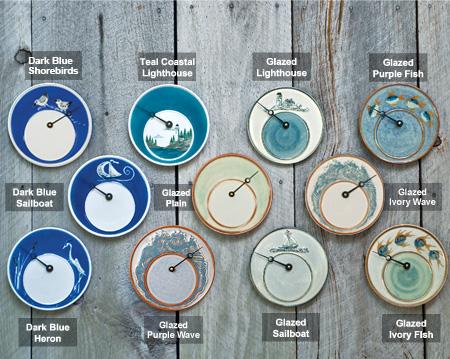 Captain's time & tide clock authentic models.